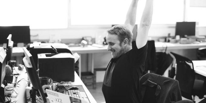 stretching, workplace, ergonomics
